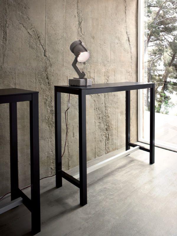 gb108 banket f r bars und restaurants hoher bartisch aus metall f r den au enbereich geeignet. Black Bedroom Furniture Sets. Home Design Ideas