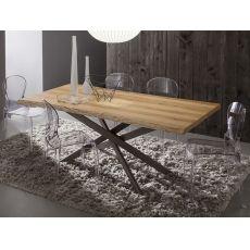 PA126 | Tavolo in metallo con piano 170x100 cm in diverse finiture