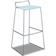 351 | H | Metal stool, multilayer seat h 80 cm
