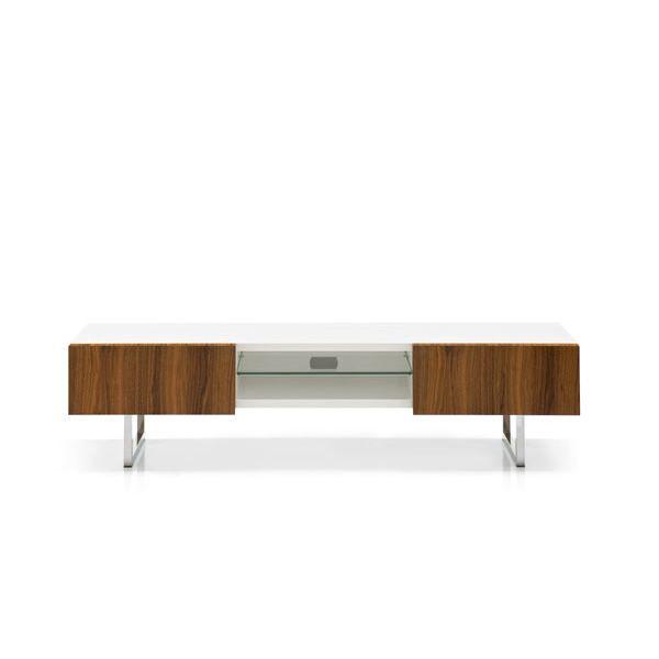 Cs6004 6 seattle mobile porta tv calligaris in legno e metallo sediarreda - Calligaris porta tv ...