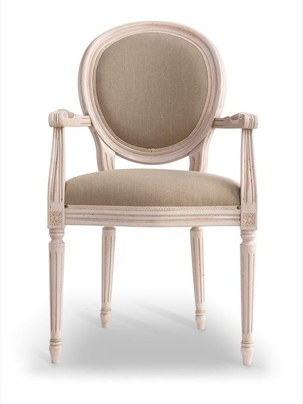 1190 nadir silla de madera cl sica con apoyabrazos de for Sillas clasicas segunda mano