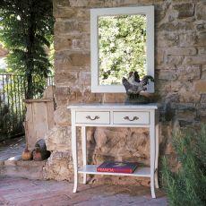 1456 Sagitta | Consolle con cassetti in legno di Tonin Casa, diversi colori e decori disponibili