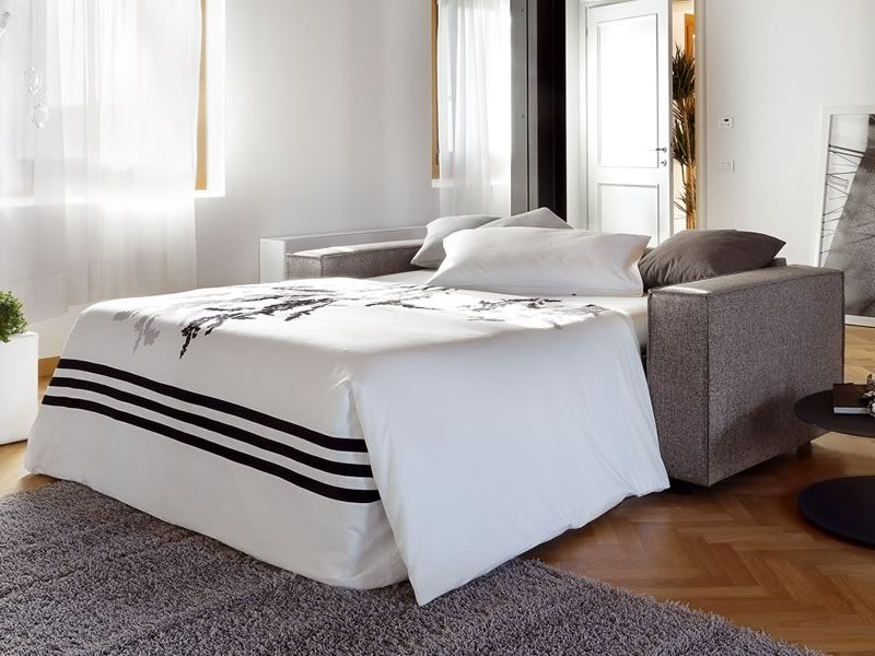 Bolero divano letto moderno a 2 o 3 posti maxi sediarreda for Lunghezza divano letto