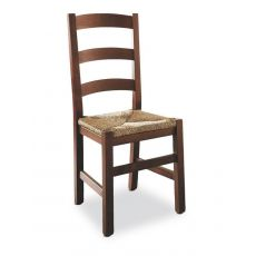 109 | Wooden chair with straw or wooden seat
