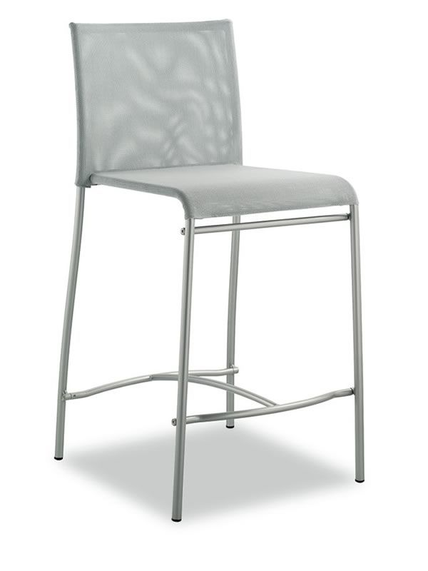 362b tabouret bas pour cuisine en m tal et textplast hauteur 60 cm sediarreda. Black Bedroom Furniture Sets. Home Design Ideas