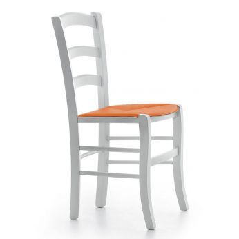 Rustikaler stuhl aus holz mit ledersitz verschiedenen for Holz leder stuhl