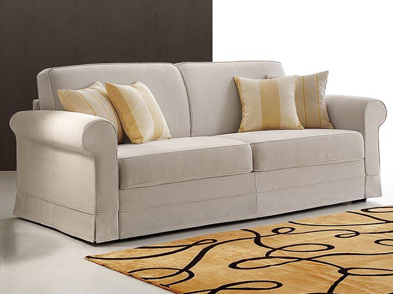 emilia canap lit 2 places 3 places ou 3 places xl en tissu ou similicuir dehoussable. Black Bedroom Furniture Sets. Home Design Ideas