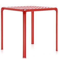 Ami Ami Table | Tavolo Kartell di design in metallo, piano in policarbonato 70x70cm, anche per giardino