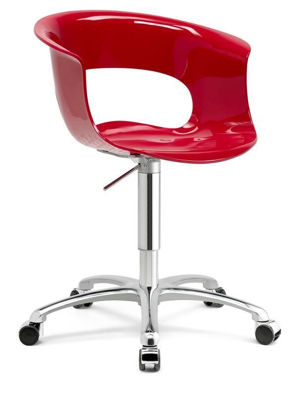 sc2694 miss b office chaise tournante et r glable en. Black Bedroom Furniture Sets. Home Design Ideas