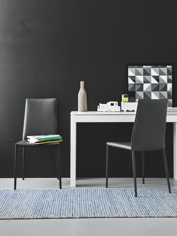 Cs4069 ll 90 sigma tavolo a consolle calligaris in legno for Calligaris consolle