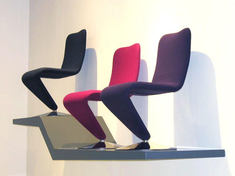f12 chaises rembourr es design. Black Bedroom Furniture Sets. Home Design Ideas
