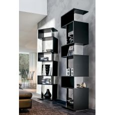 7241 Osuna | Revolving wooden bookcase by Tonin Casa
