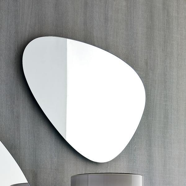 7529 stone specchio sagomato di tonin casa diverse - Specchio ovale ikea ...