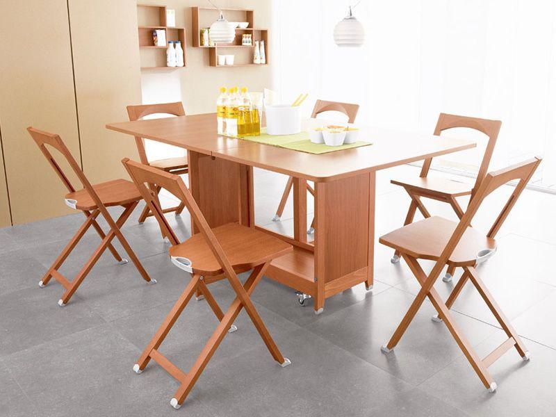 Cs208 olivia sedia pieghevole calligaris in legno for Sedie pieghevoli legno