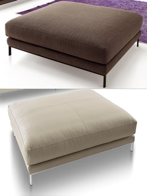 Toronto divano design a 2 posti 3 posti o 3 posti xl for Divano pouf