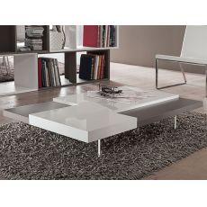 PA360   Tavolino bicolore, 120 x 70 cm, diversi colori