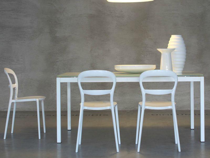 Cs1091 d wien sedia calligaris in alluminio e - Sedia wien calligaris ...