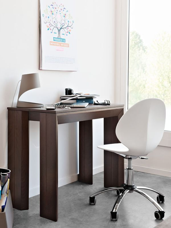 Cs4046 mistery tavolo consolle calligaris in legno for Calligaris consolle