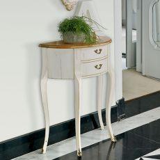 4260 Palisa | Consolle con cassetti in legno di Tonin Casa, diversi colori e decori disponibili