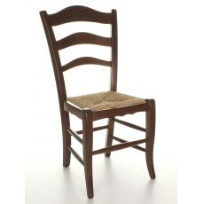 MU10 | Country style wooden chair, available with several seats