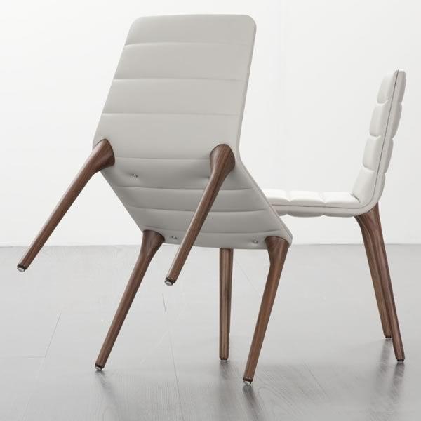 Chaise en bois moderne - Chaises bois et cuir ...