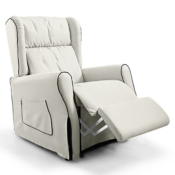 Memory poltrona relax elettrica cuscino in piuma d 39 oca for Rivestimenti poltrone