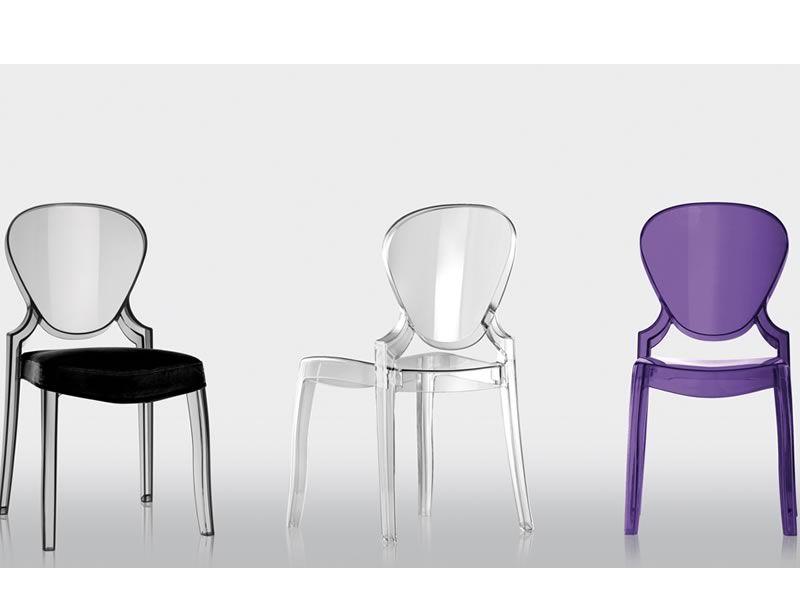 Queen 650 sedia pedrali di design in policarbonato for Sedie design opinioni