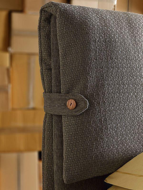 Testiera per letto fodera design casa creativa e mobili for Copri testata letto ikea