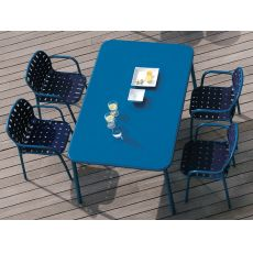 Yard T | Emu table in aluminium, several colours, also for garden