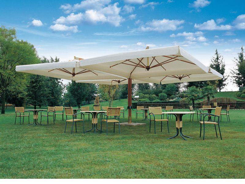 Tecnologia elettronica ombrelloni da esterno per bar for Ombrelloni da giardino milano