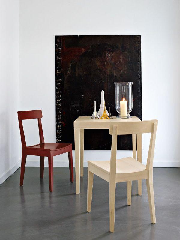 Cs4053 q la locanda mesa de madera calligaris 70x70 cms for Mesa 70x70 madera