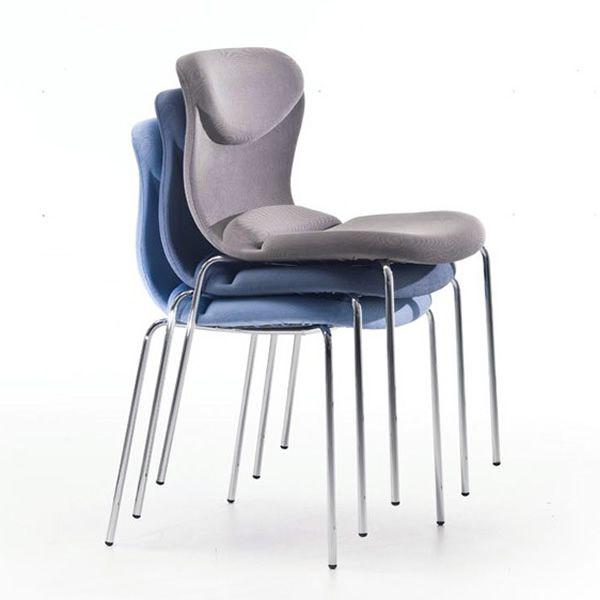 Md151 sp design stuhl gepolstert und bezogen auch mit for Stuhl gepolstert