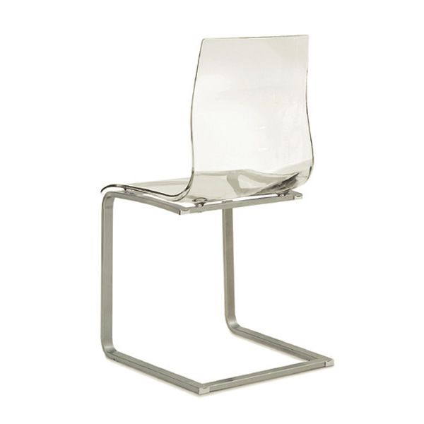 Gel sl silla domitalia estilo pat n asiento de for Sillas metacrilato