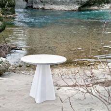 Compass   Tavolo da giardino Domitalia, in polietilene, 70x70 cm o diametro 70 cm