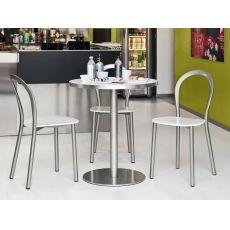 715 | Tavolo in metallo con piano tondo in diverse misure
