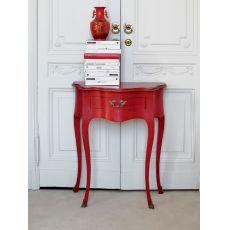 3802 Ottante | Consolle con cassetto in legno di Tonin Casa, diversi colori e decori disponibili