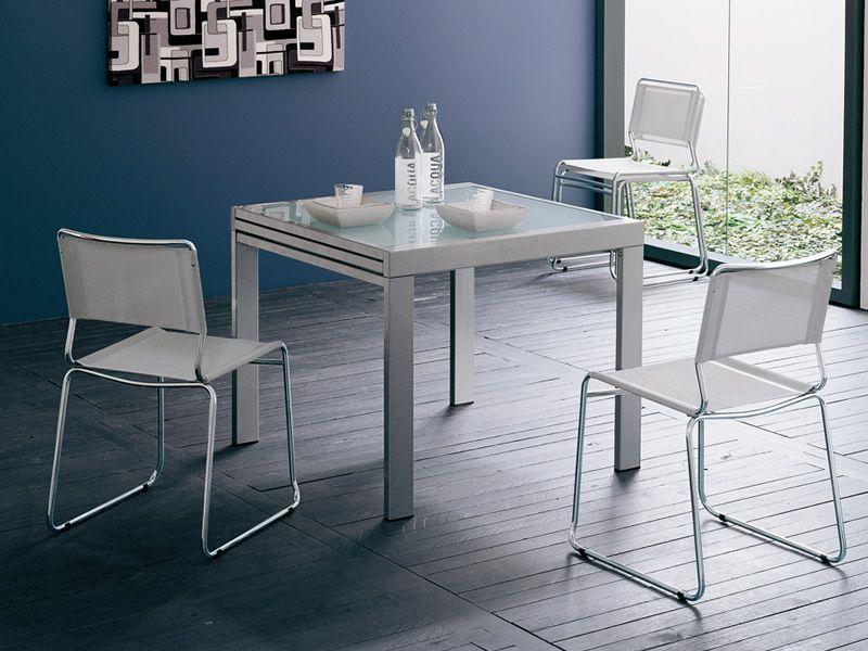 Sediarreda sedie tavoli e complementi d 39 arredo vendita for Tavolo 90x90 allungabile