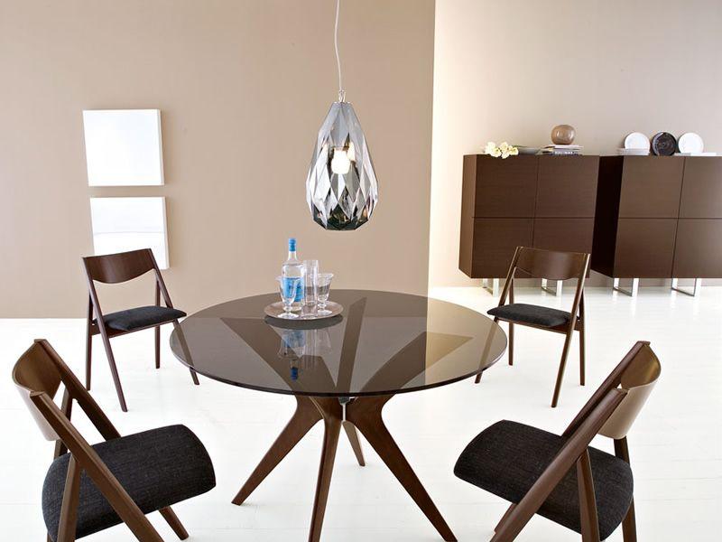 Cs6017 2 horizon mobile alto calligaris in legno e vetro - Mobili da ingresso calligaris ...