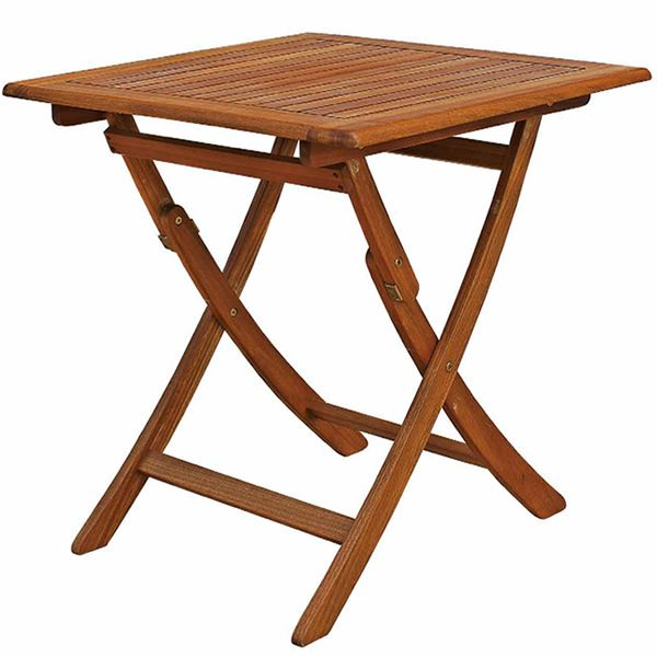 Table carre exterieur maison design for Table exterieur 70x70