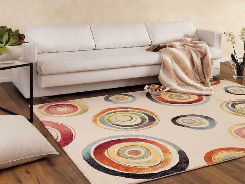 Capri 32356 6264 tappeto moderno fantasia in diverse - Tappeto polipropilene ...