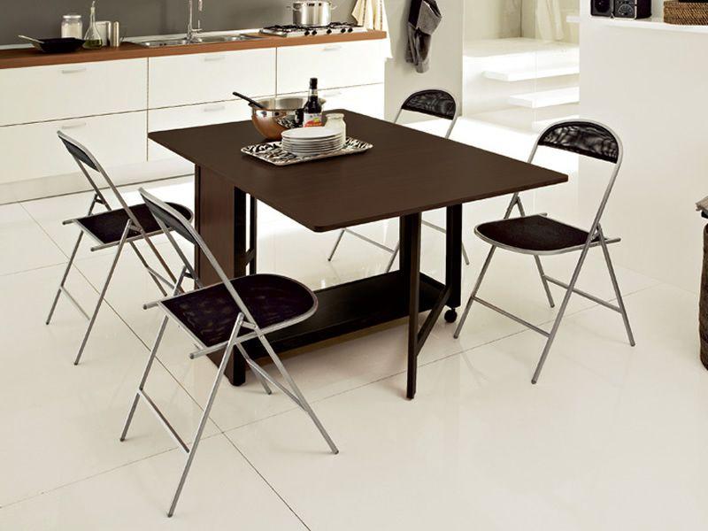 Icon t tavolo domitalia in legno 95x40 cm pieghevole e for Tavolo allungabile pieghevole