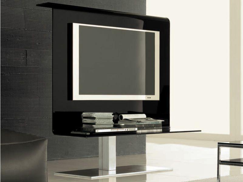 Meubles tele en verre sammlung von design for Meuble tv en verre pas cher