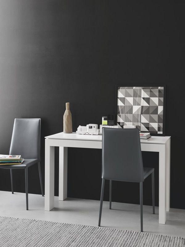Cs4069 ll 90 sigma tavolo a consolle calligaris in legno for Consolle calligaris offerta
