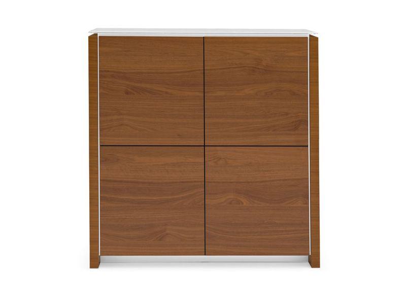 Cs6029 4 mag meuble buffet haut calligaris en bois et for Meuble calligaris