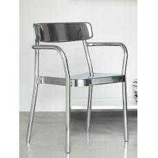 Grace AP | Emu armchair in aluminium, stackable