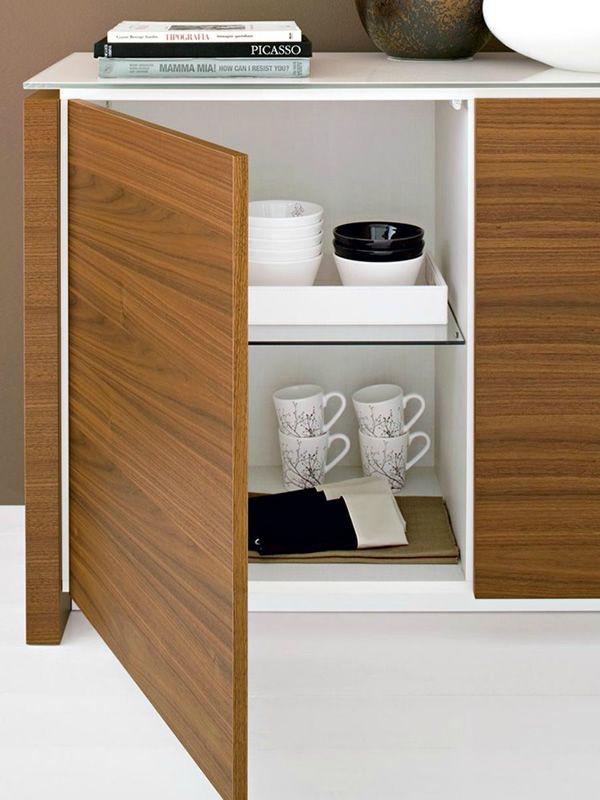Cs6029 1 mag meuble buffet calligaris en bois et en for Meuble calligaris