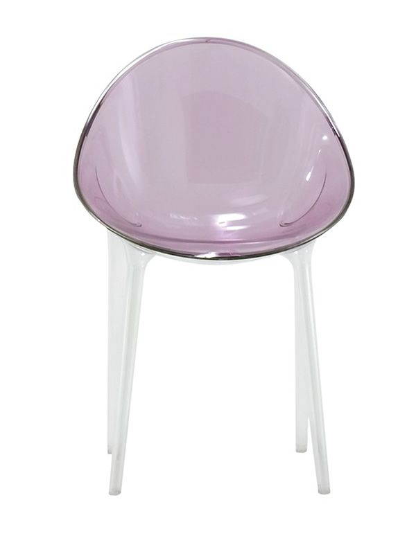 Mr impossible sedia kartell di design in policarbonato - Sedia ufficio viola ...