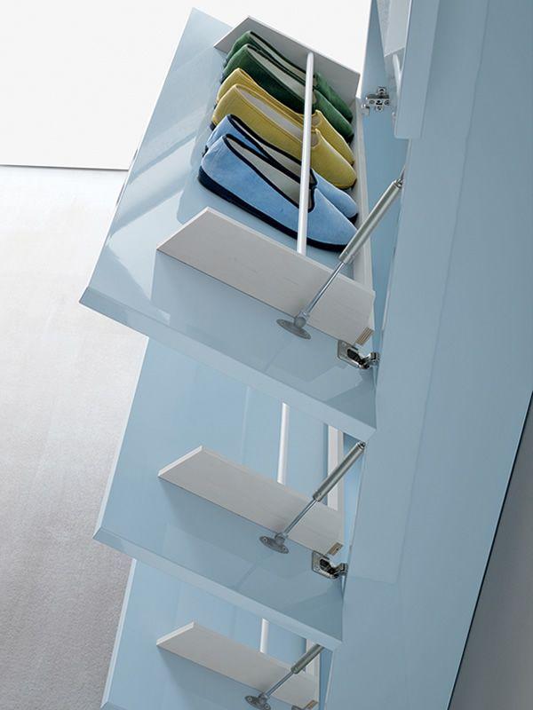 hosoi 172 eingangsm bel schuhschrank mit 4 t ren verschiedene farben sediarreda. Black Bedroom Furniture Sets. Home Design Ideas