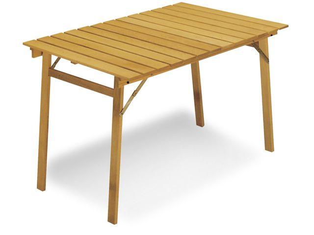 Tavolo ls12 tavolo pieghevole in legno diverse misure - Tavolo in legno pieghevole ...