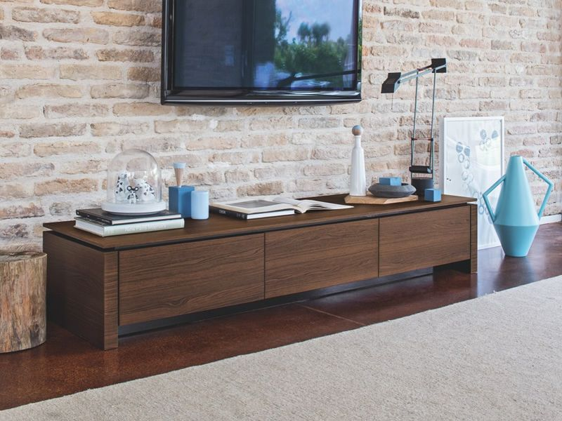 Cs6029 3rl mag calligaris tv bench in wood several for Calligaris instagram